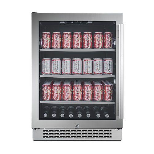 152 Can Built-In Beverage Cooler - Left Hinge