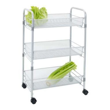 Chubby Mesh Cart 3 Tier Vegetable Kitchen Storage Trolley From Lakeland Spray It Gold To Match My Decor