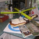 helicopter birthday cake how-to :: instructables