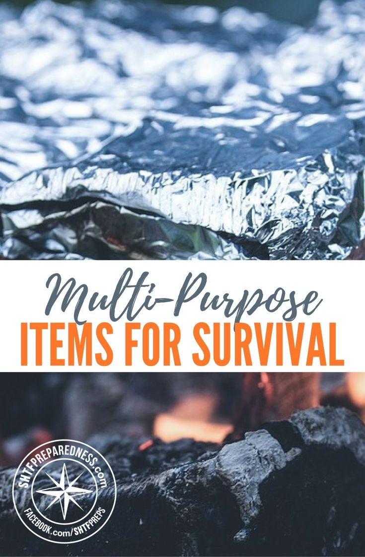 7 Unusual Multi-Purpose Items for Survival — This article is a perfect example for why having multi purpose items in your house or bug out bag is always the best option