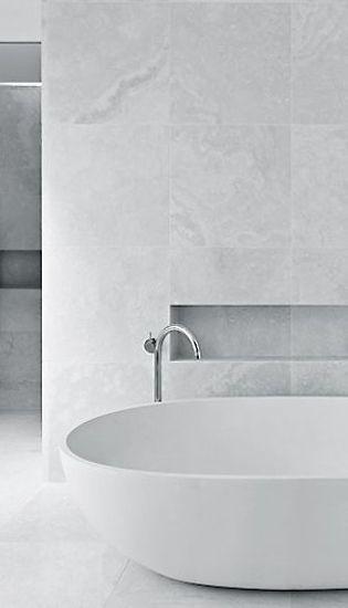 15 White Bathroom Ideas | www.designlibrary.com.au
