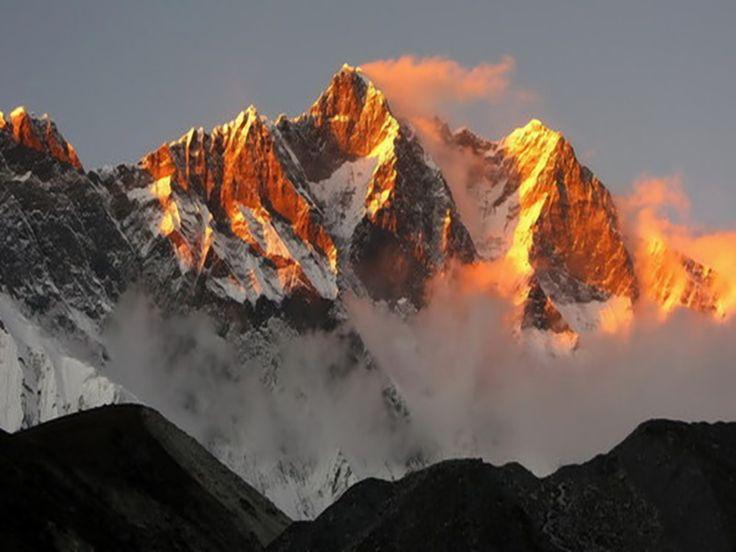snow-mountains-sunset-4.jpg (1024×768) | Scenic Beauty ...
