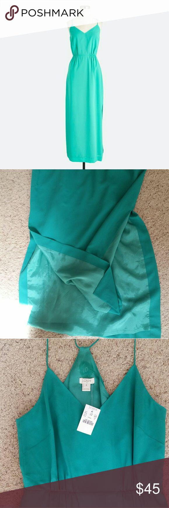 I just added this listing on Poshmark: J. Crew teal maxi dress size 4. #shopmycloset #poshmark #fashion #shopping #style #forsale #J. Crew #Dresses & Skirts