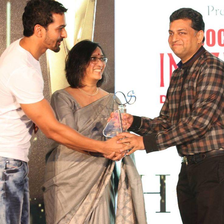 Harshvardhan Rane, Smeeta Neogi,Mahindra Lifespace Developers Limited and Ar. Ritesh Totla (Delhi) of Creative Cell at Taj Santacruz #TajCollection #LaunchParty #HomesFurnishings #HomeDecor #HomeFabricCollection