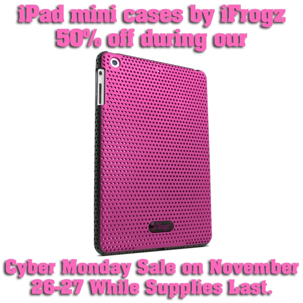 iPad mini cases by iFrogz  Get 5 entries  Sign up  Share FB  Tweet  Pinterest