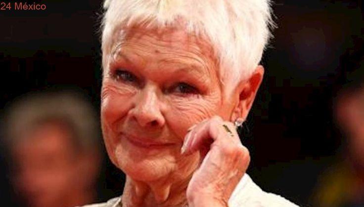 Con la edad, Judi Dench siente más temor de hacer cine