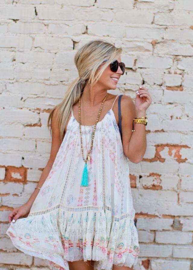 25  best ideas about Flowy summer dresses on Pinterest | Beautiful ...
