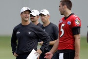 John Harbaugh and Joe Flacco Photo