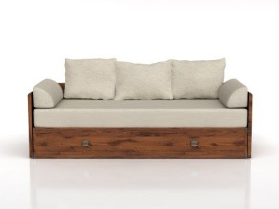 Łóżko: INDIANA-JLOZ 80/160 - Black Red White