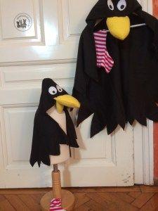 Rabe Socke Kostüm