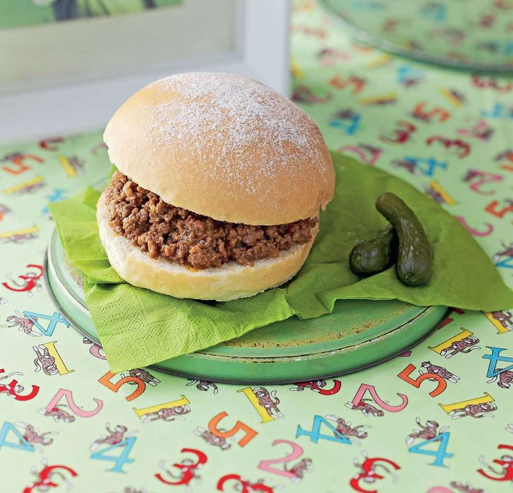 Sloppy Joes by Sabrina Parrini from Half-Hour Hungries | Cooked