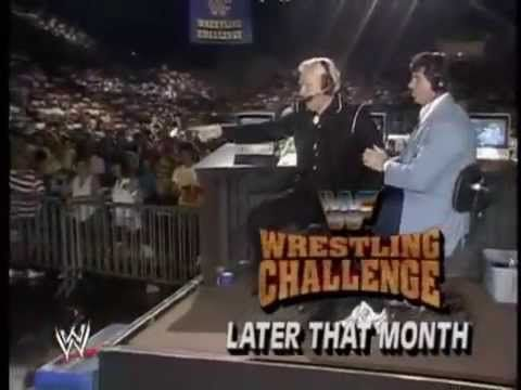 Bobby Heenan's feud with the Big Bossman Fall 1990