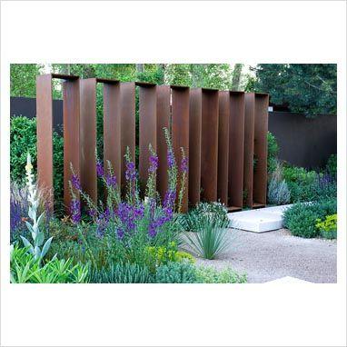 cortenstaal tuin elementen