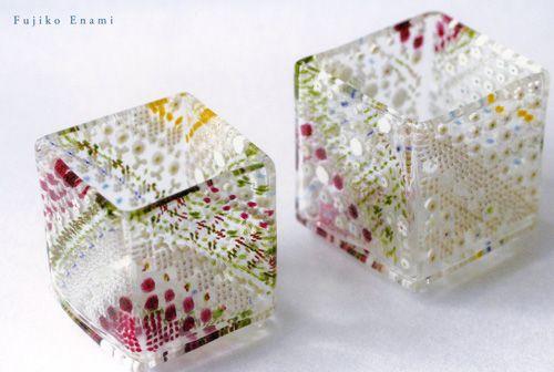 Fujiko Enami's glass works - ヴェネチアン・グラスと江波冨士子さん : 介のそれから日記