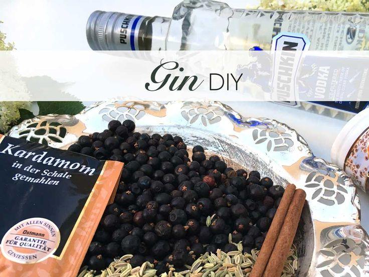 Gin, DIY, selbermachen, ohne, Brennen, Mixen, punsch, Cocktail, Do, it, yourself, Alkohol, Rezept, Wacholderbeeren, Fenchelsamen, Zimt, Kardamom,