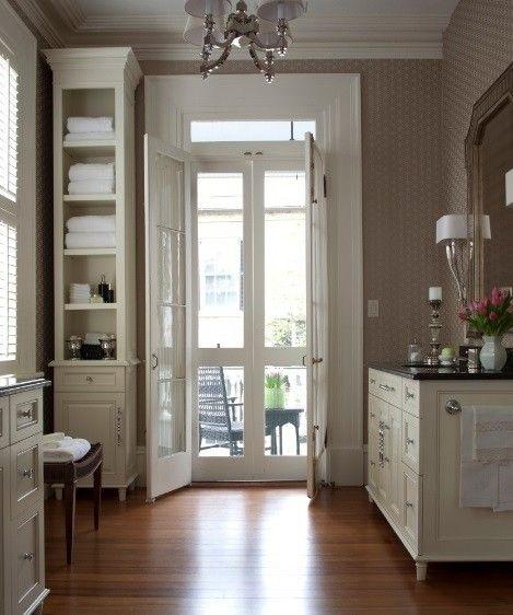 Charleston residence update pulliam morris interiors for Beautiful garage interiors