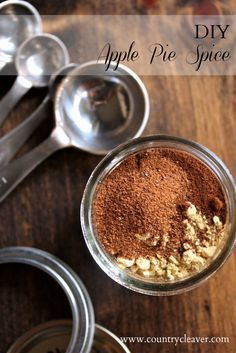 DIY Apple Pie Spice - Custom blend your own Apple Pie Spice for the holidays!