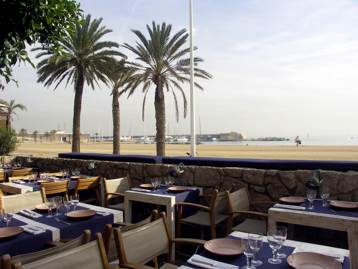 Restaurante Agua / Grupo Tragaluz / Barcelona  #agua #barcelona #playa #grupotragaluz