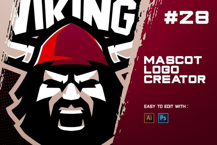 Download Viking Esports Logo Creator Sports Fonts Art Logo Vikings