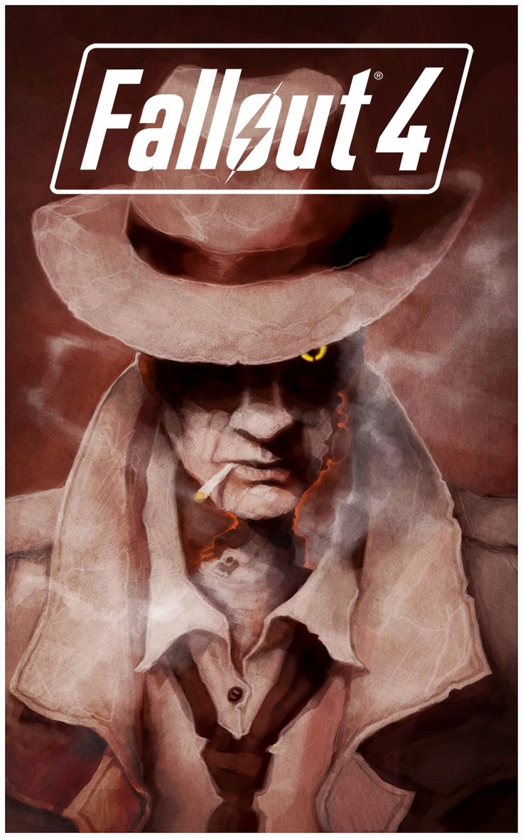 Fallout 4,Fallout,фаллаут приколы,фэндомы,Nick Valentine,coupleofkooks
