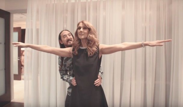 """Watch Céline Dion Sing """"My Heart Will Go On"""" With Steve Aoki  