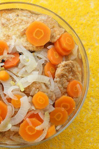 Marinated & fried pork escalopes (Estonian recipe) - make 24h ahead of serving.