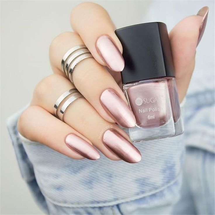 UR SUGAR Buntes Rosa Silber Gold Spiegel Metallic Nagellack Metallic Nagellack Spiegeleffekt Wunderschöner Metall Nagellack – nails