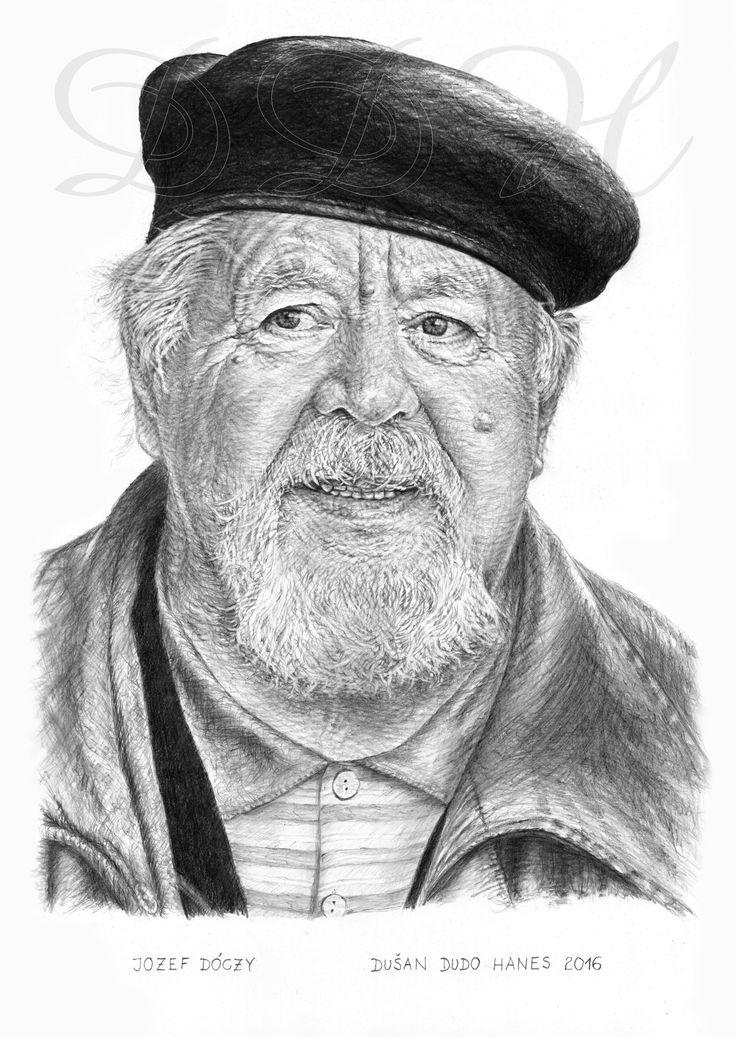 Jozef Dóczy, portrét Dušan Dudo Hanes