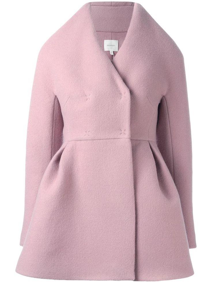 Delpozo structured short coat