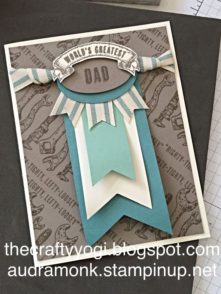 the crafty yogi: New Catalog Preview (3) guy greetings, stampin up, Father's Day card