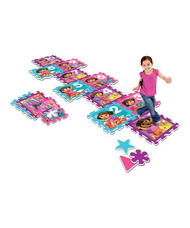 Take a look at this Dora Game Puzzle Play Mat by Dora the Explorer on #zulily today!