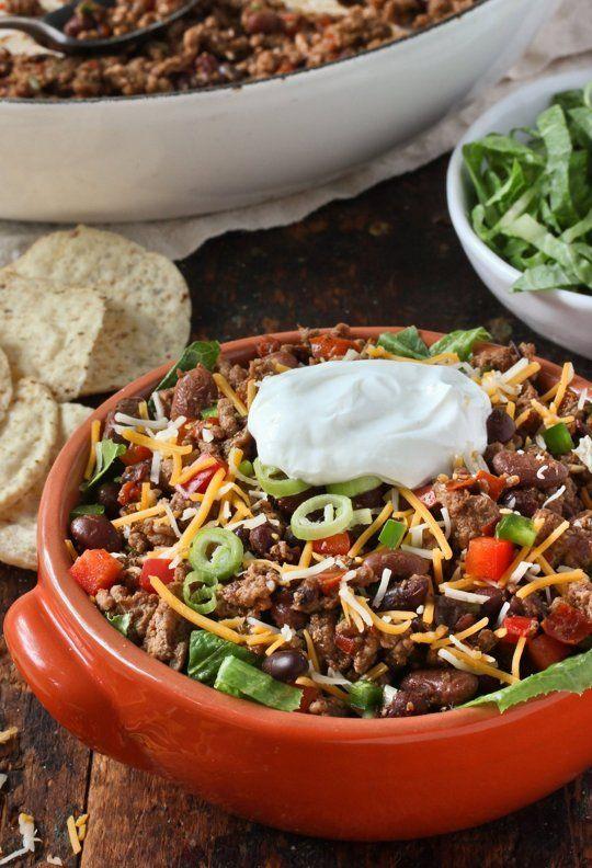 Recipe: Turkey Taco Salad