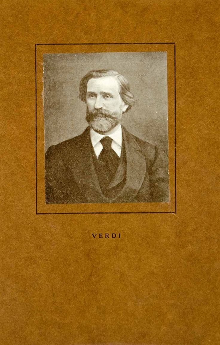 """""""Verdi"""" This is an original 1911 tipped-in black and white halftone print of a portrait of Italian, Romantic period music composer, Giuseppe Verdi. Please note that this tipped-in print is mounted on"""