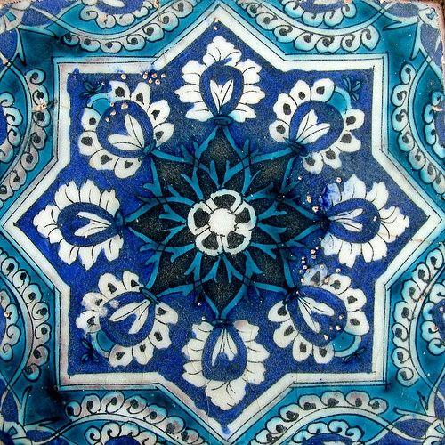 Tile works/ Emamzadeh Mahroogh