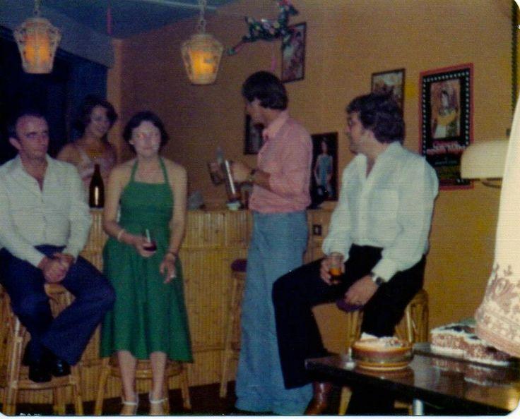 Qantas Crew party Singapore 1977
