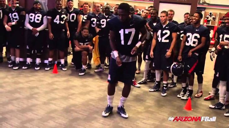 The Arizona Wildcats' Amazing Team Dance-Off At The End Of Football Camp