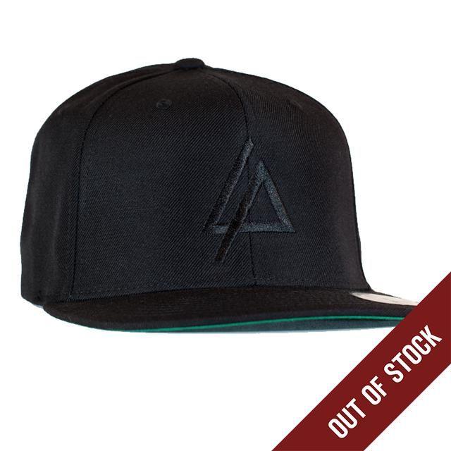 b09816eddd2 Check out Linkin Park Black Embroidered Logo Hat on  Merchbar ...