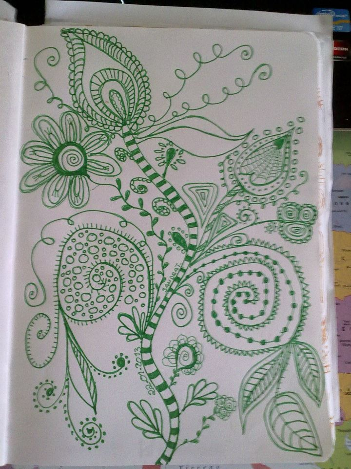 green doodle :)