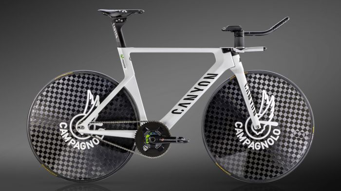 Alex Dowsett's Hour Record Canyon Speedmax WHR