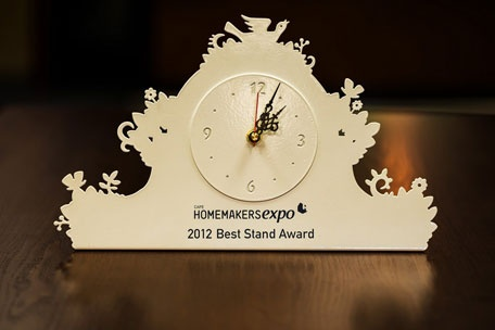 Best Stand Award - Homemakers Expo 2012