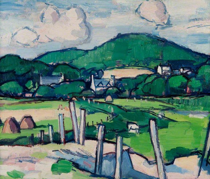 Landscape by Samuel John Peploe