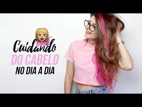 ROTINA DE CUIDADOS COM OS CABELOS - YouTube