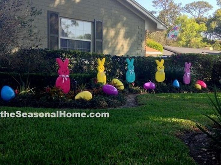 Charming Easter Ideas For Outdoor Decorations 21 99bestdecor In 2020 Easter Garden Easter Diy Diy Easter Decorations