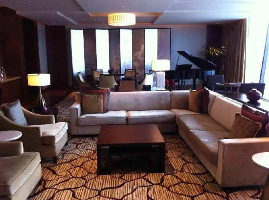 Living dining room with baby grand piano great rooms and for Baby grand piano in living room