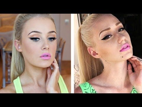 Iggy Azalea Inspired Makeup Tutorial [Video].I tried the iggy inspired look and got tons of compliments:)