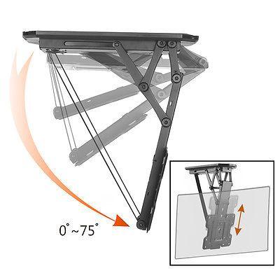 boost cm2355m remote control motorized flip down tv ceiling mount