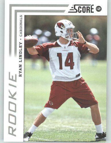 2012 Score Football Card #374 Ryan Lindley RC - Arizona Cardinals (RC - Rookie Card)(NFL Trading Card) by Score. $2.52. 2012 Score Football Card #374 Ryan Lindley RC - Arizona Cardinals (RC - Rookie Card)(NFL Trading Card)