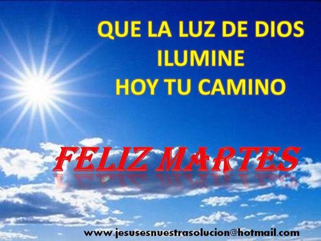 Centro Cristiano para la Familia: FELIZ MARTES     Lámpara es a mis pies tu palabra,...