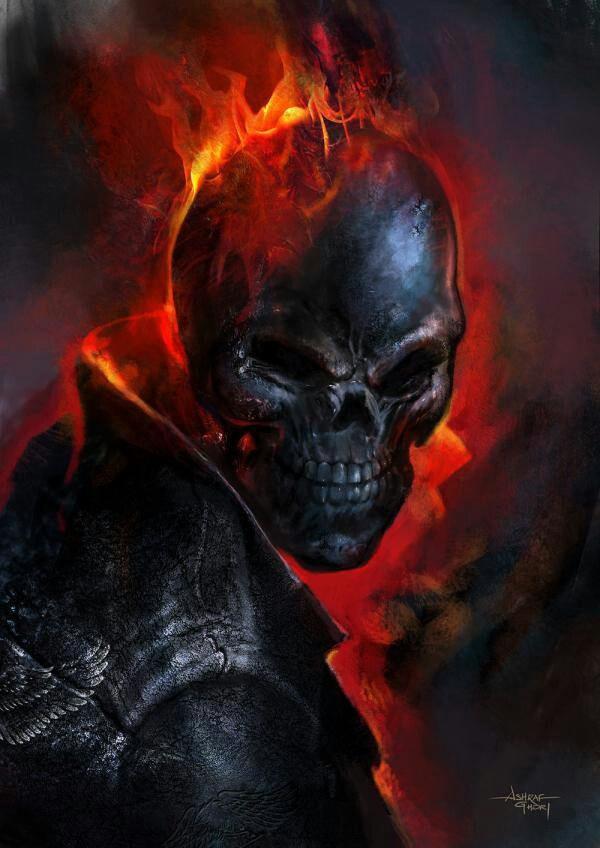 A insurreição de Poseidon. - Página 3 9926ba403e75cc80f050611cf718ab4a--ghost-rider-marvel-dc