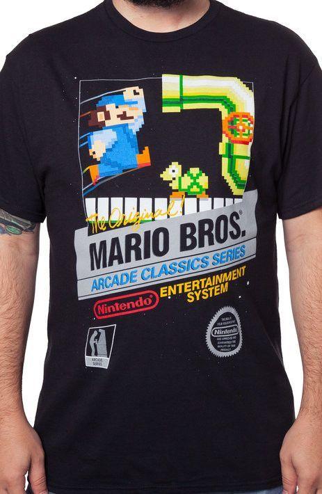 Original Mario Bros Cartridge T-Shirt - Nintendo T-Shirt